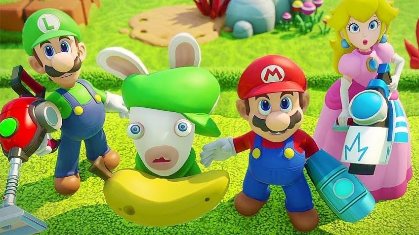 Создатели Mario + Rabbids Kingdom Battle рассказали о кролике Луиджи