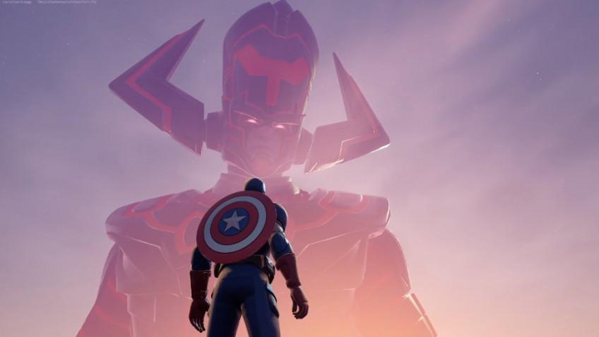 Игроки в Fortnite вместе с героями Marvel победили Галактуса — как это было?