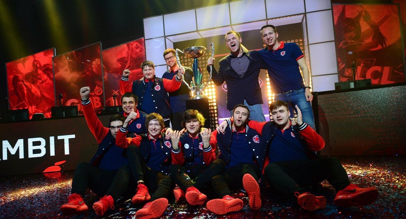 В рамках Лиги Gambit выбраны десять лучших киберспортсменов