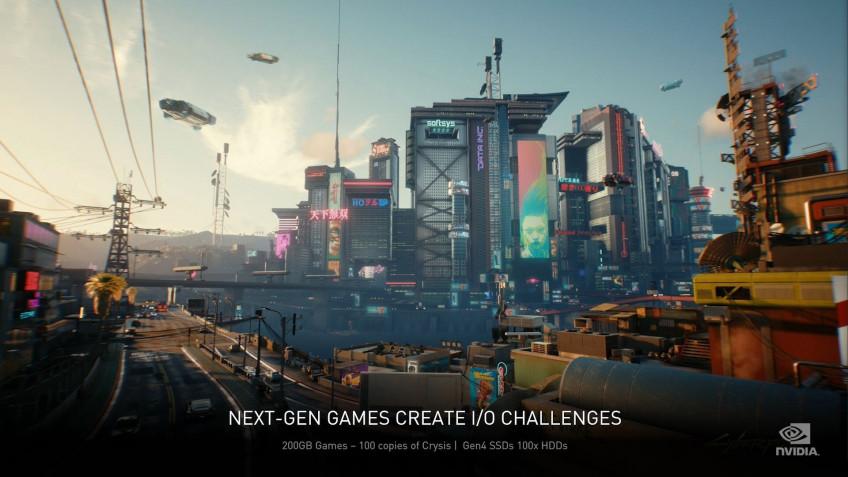 В CD Projekt RED подтвердили, что Cyberpunk 2077 будет весить меньше 200 ГБ