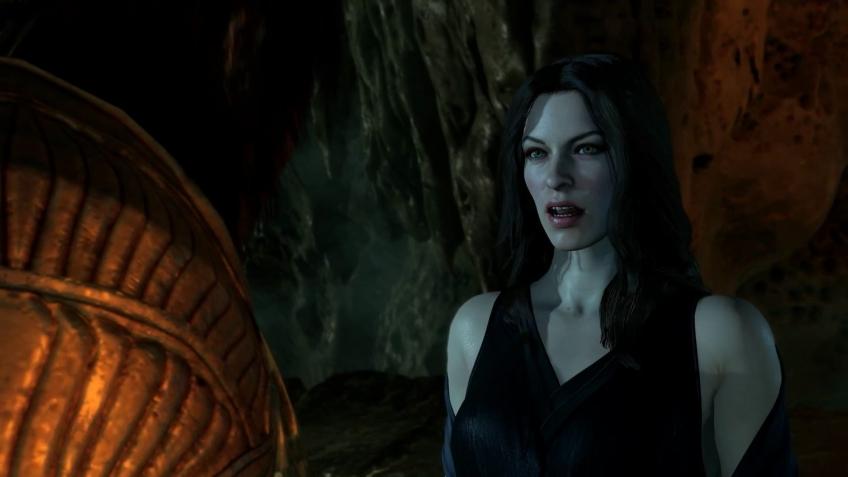 Паучиха Шелоб превращается в женщину и видит будущее в новом ролике Shadow of War