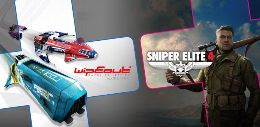 В августе подписчики PS Plus получат WipEout: Omega Collection и Sniper Elite4