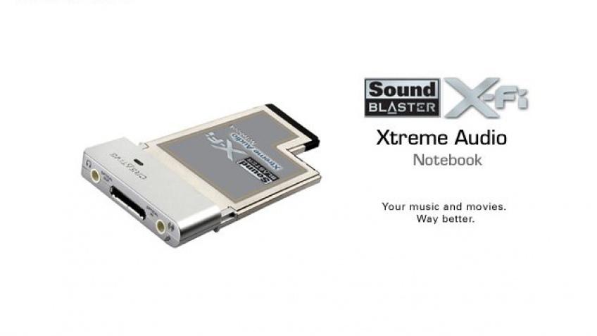 X-Fi для ноутбуков