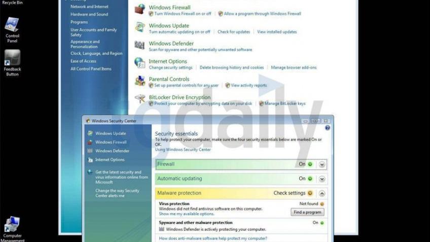 Первые скриншоты Windows7