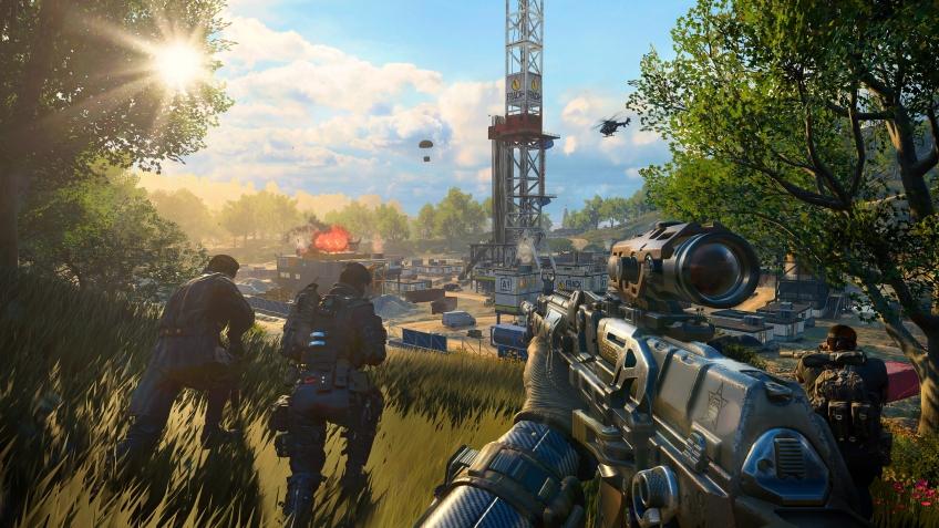 На РС появилось издание Black Ops4 только с мультиплеером и королевской битвой