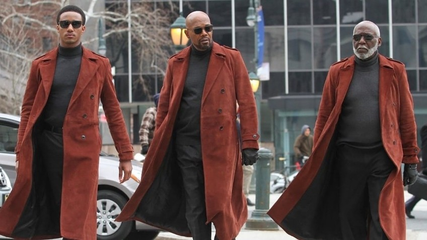 Сэмюэл Л. Джексон ругается матом в новом трейлере комедийного боевика «Шафт»