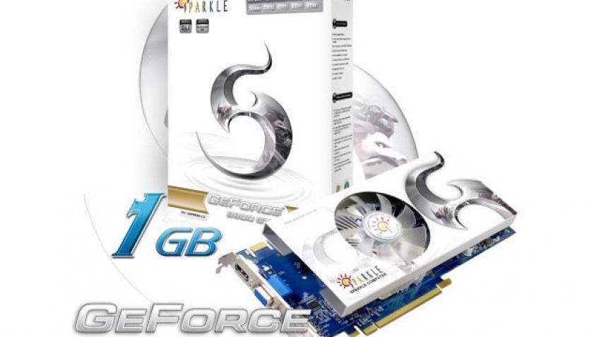 Sparkle анонсировала GeForce 9800 GTX+ с1 Гб памяти