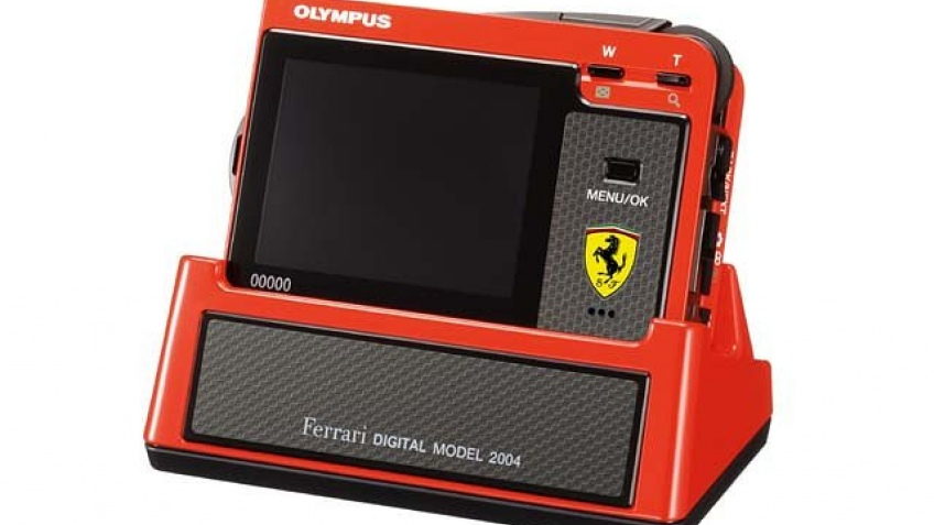 Цифровик для поклонников Ferrari