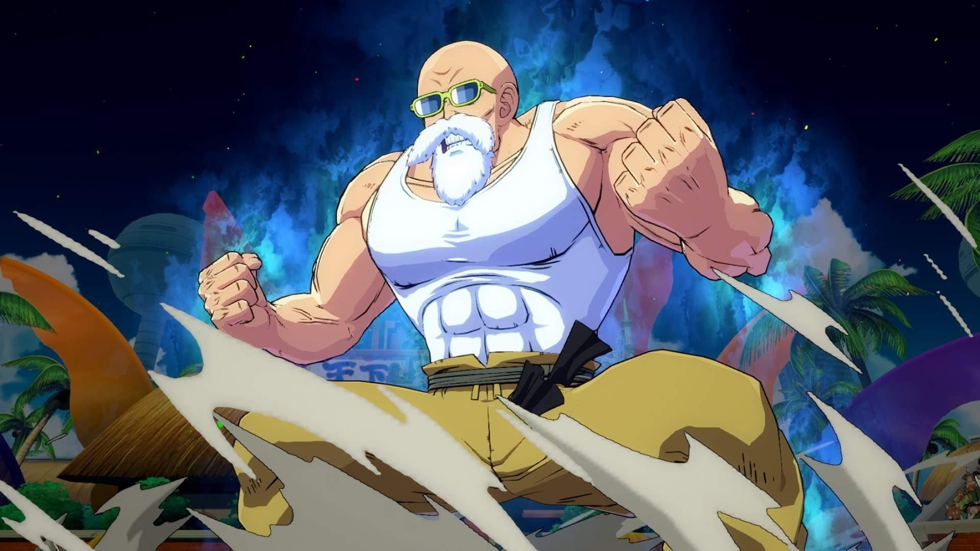 Мастер Роши появится в Dragon Ball FighterZ на следующей неделе
