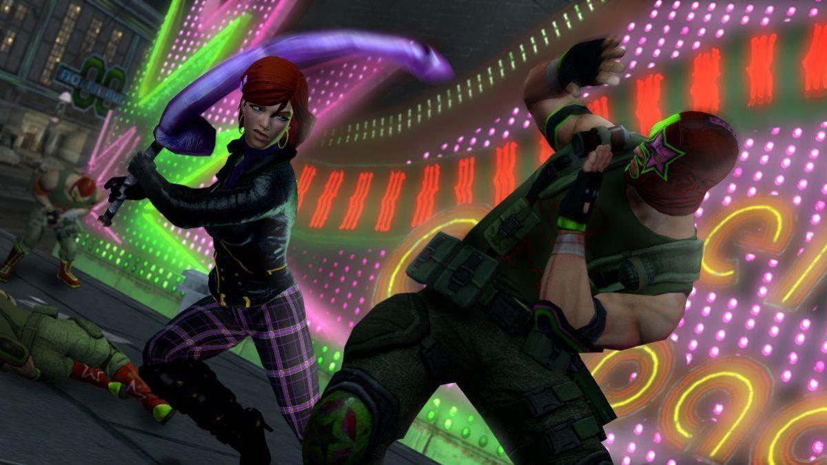 Игрокам предложили создать оружие для Saints Row4