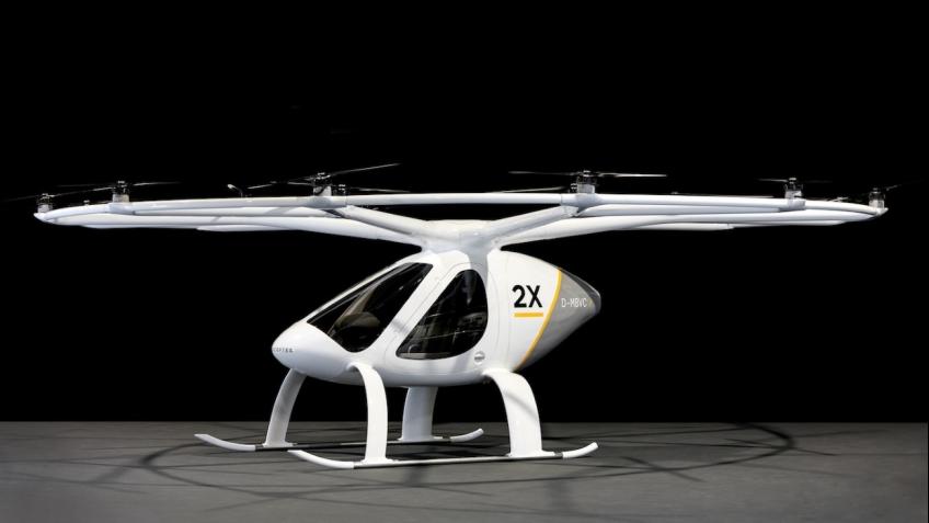 Дрон e-volo Volocopter 2X может перевозить двоих человек