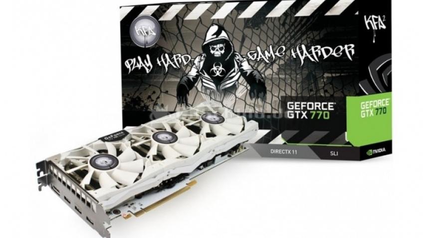 KFA2 представила белоснежный вариант GeForce GTX 770