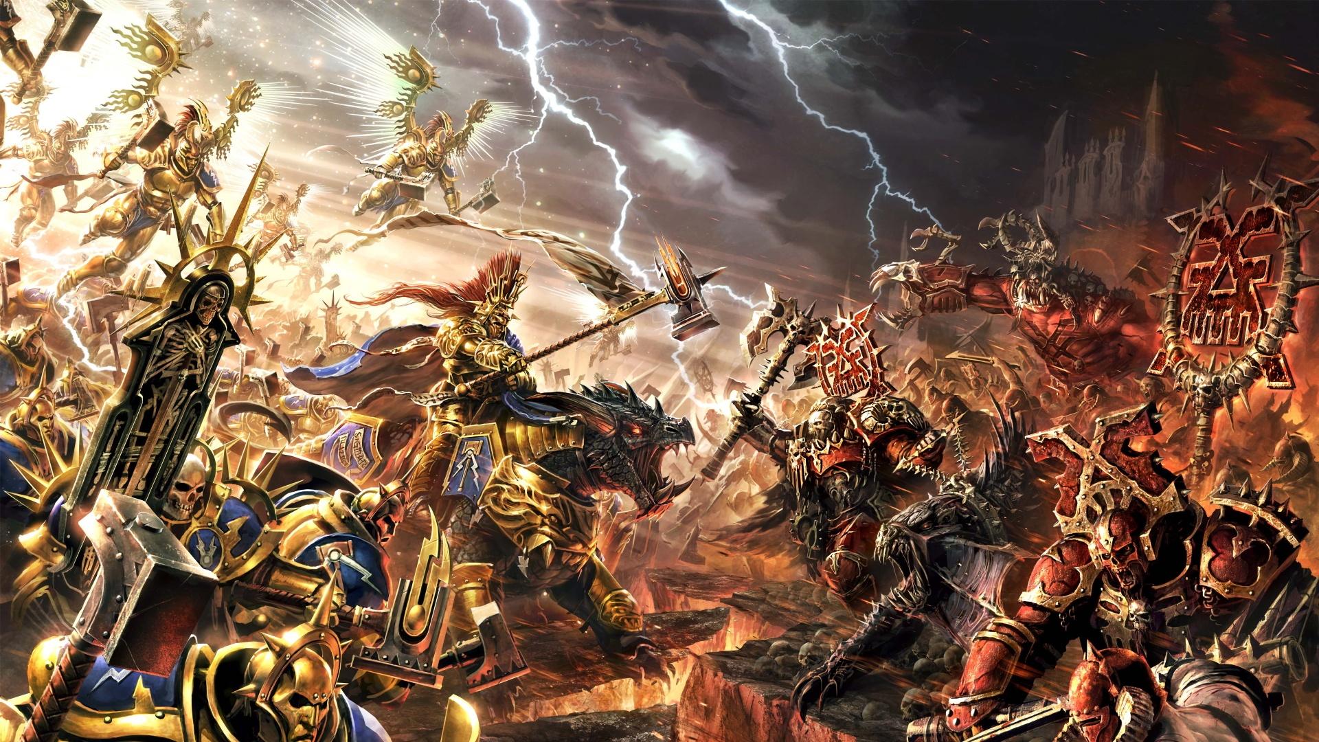 Frontier Developments выпустит стратегию во вселенной Warhammer Age of Sigmar