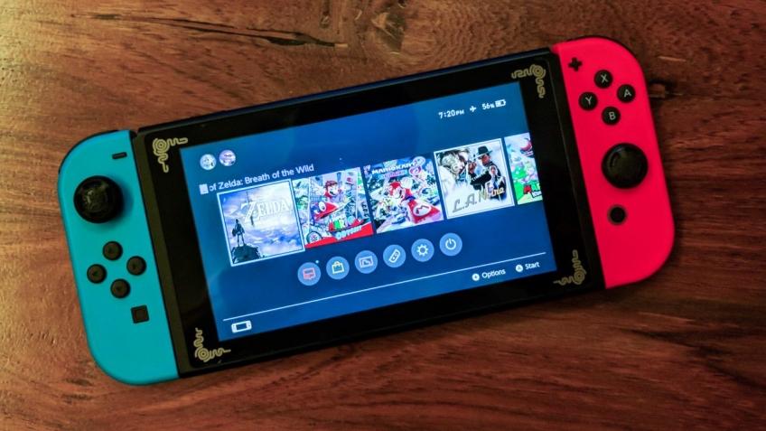 В Nintendo Switch нашли скрытый VR-режим