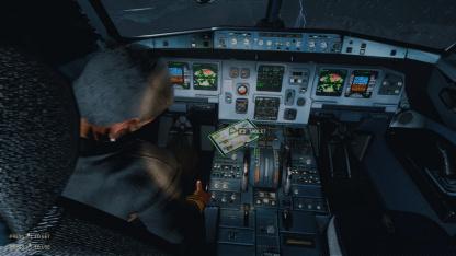 В Turbulence — Airplane Survival Simulator нам необходимо спасти падающий самолёт