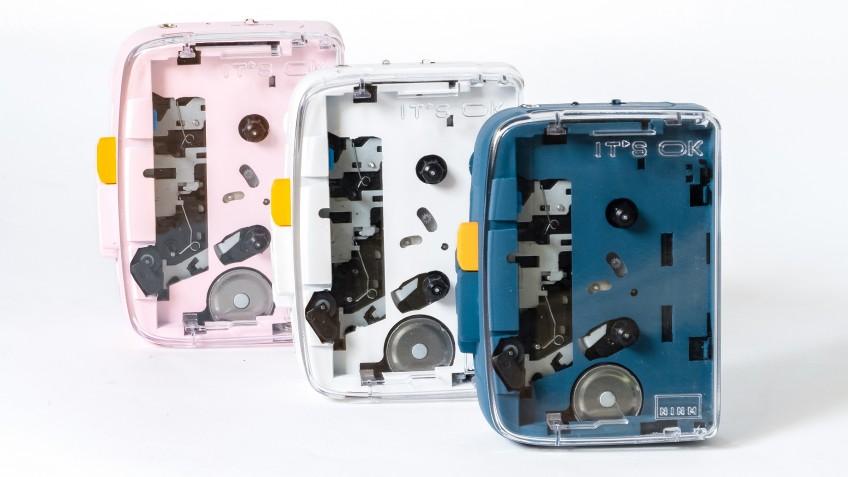 IT'S OK: первый портативный кассетный аудиоплеер с Bluetooth