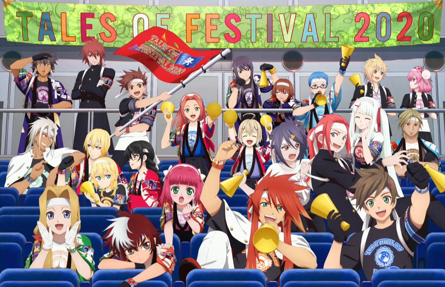 Bandai Namco собирается провести Tales of Festival 2021 вживую