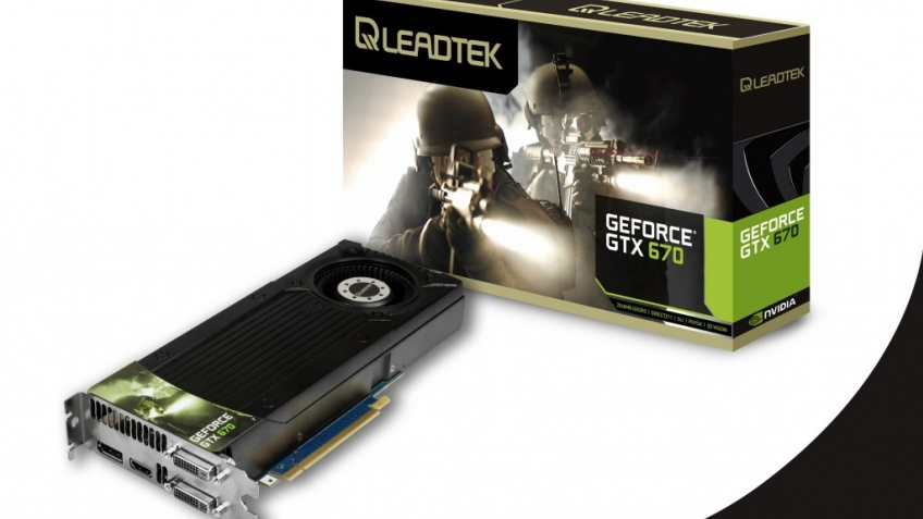 Leadtek представила видеокарту WinFast GTX 670