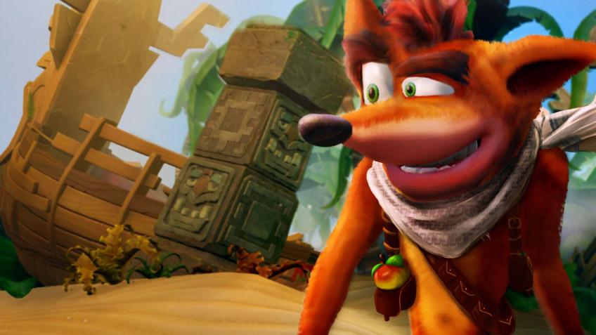 Activision тизерит нового «Крэша Бандикута»