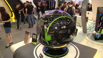 In Win показала сферический корпус Winbot