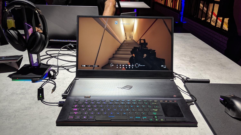 IFA 2019: ещё один «трёхсотый» — игровой лэптоп Asus ROG Zephyrus S GX701 получил экран на 300 Гц