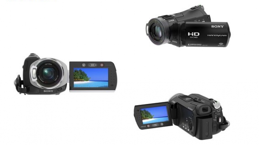 3 новых камкордера Sony