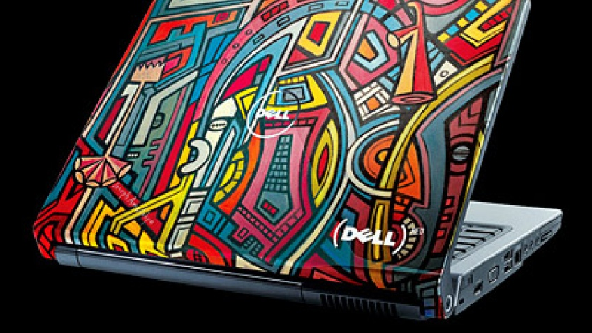 Ноутбуки Dell в стиле арт-хаус