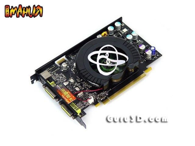 Новые видеокарты из серии GeForce 8000