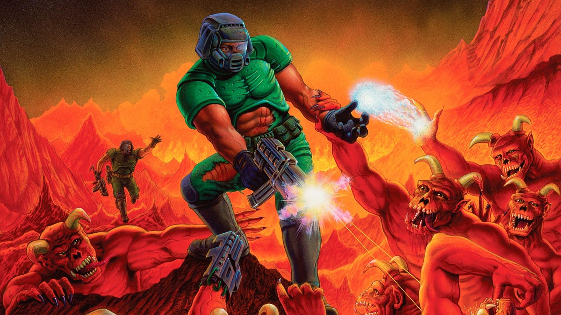 Выход оригинальной трилогии Doom на консолях вызвал шквал шуток в интернете