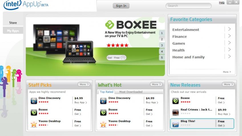 IDF Fall 2010: Intel анонсировала электронный магазин софта AppUp