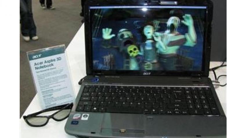 Ноутбук со стереодисплеем