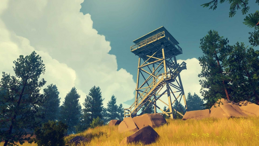 Firewatch заглянет на Nintendo Switch этой весной