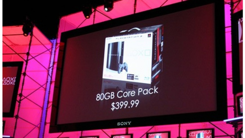 Sony представила новую модель PS3
