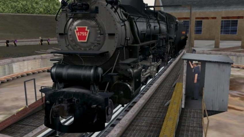 Train Simulator 2 отогнали в тупик