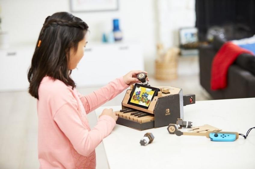 Nintendo анонсировала набор картонных модулей Labo для Switch