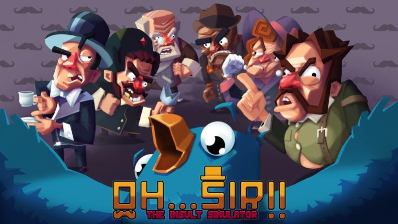 Вышла улучшенная версия симулятора оскорблений Oh…Sir!