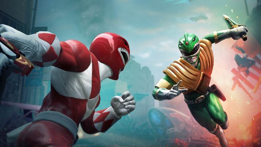 Серии Power Rangers 25 лет: анонсирована Power Rangers: Battle for the Grid