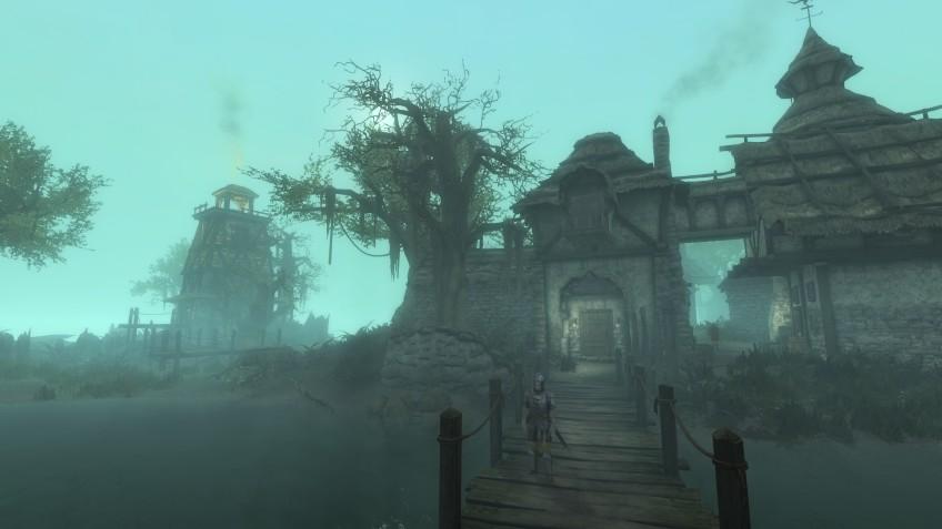 Первое геймплейное демо модификации Skywind — Morrowind на движке Skyrim