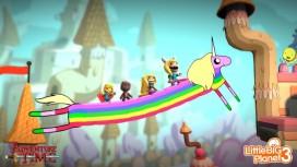 В LittleBigPlanet3 появилось дополнение по мультсериалу «Время приключений»