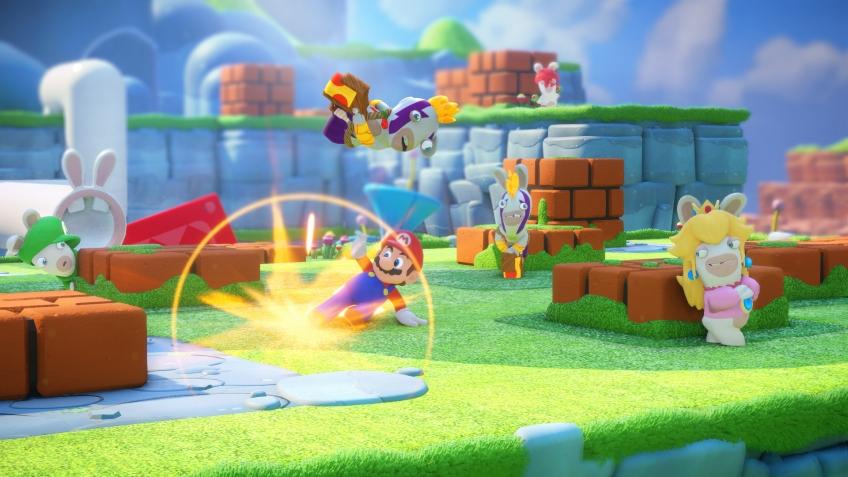 Новый ролик Mario + Rabbids Kingdom Battle посвятили кооперативному режиму