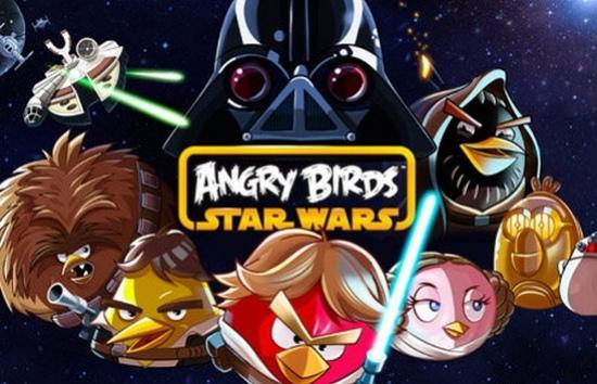 Rovio выпустит игру Angry Birds Star Wars