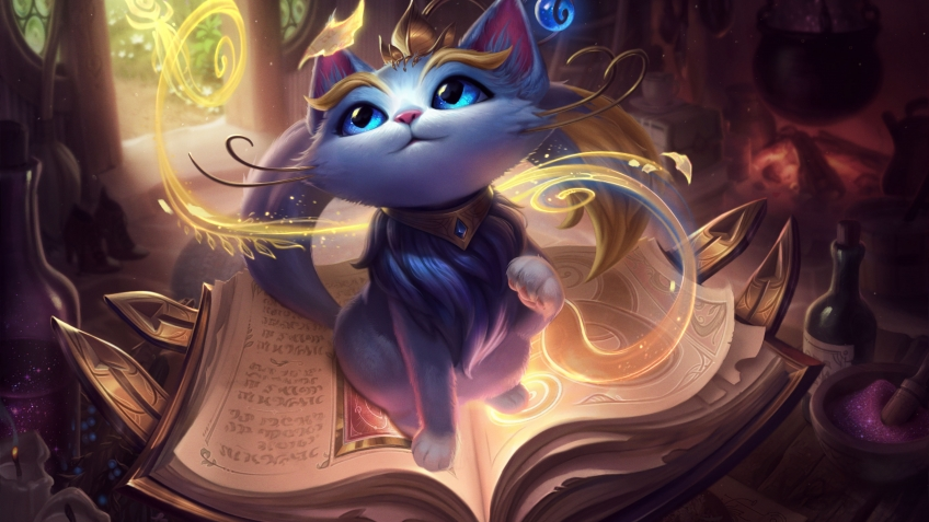 League of Legends завела себе кошку. Встречайте Юми!