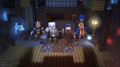 В сети появилась запись45 минут игрового процесса Minecraft Dungeons