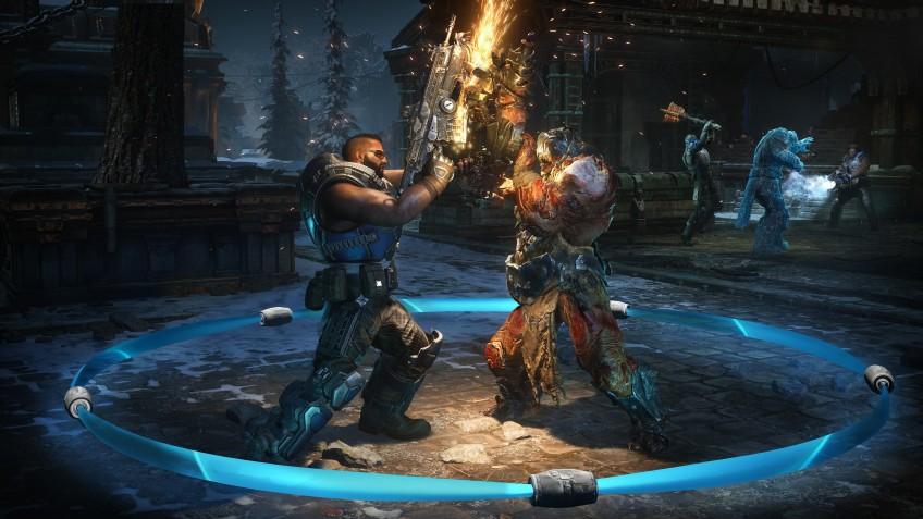 В сеть выложили запись матча в мультиплеерном режиме Gears5