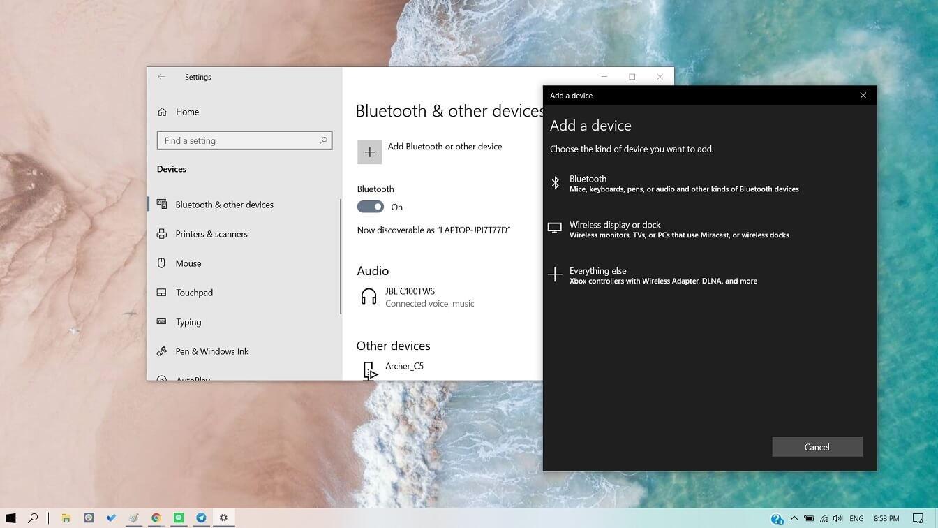 Windows 10 (2004) получит функцию из Windows7 — аудио по Bluetooth A2DP