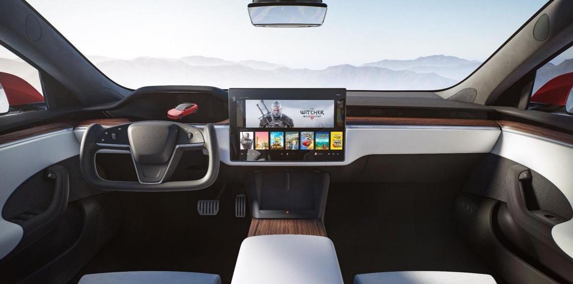 Новые Tesla смогут запустить Cyberpunk 2077 и «Ведьмака 3»