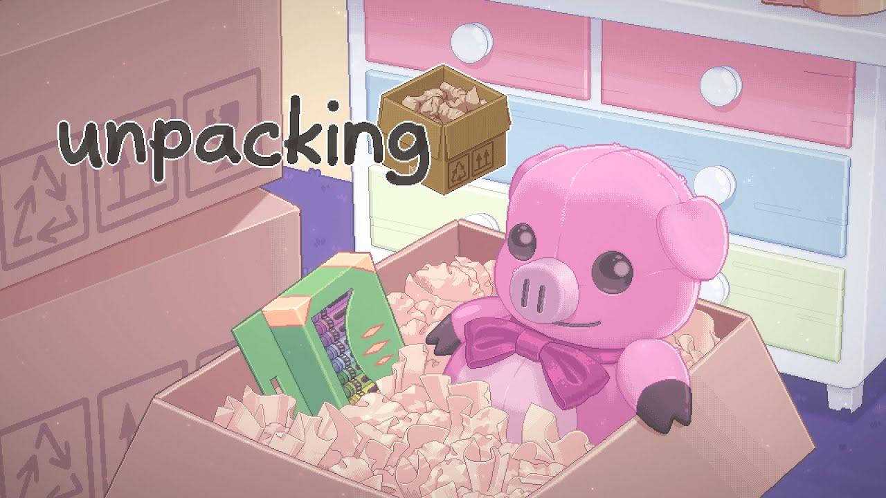 Медитативная головоломка Unpacking о распаковке выйдет2 ноября
