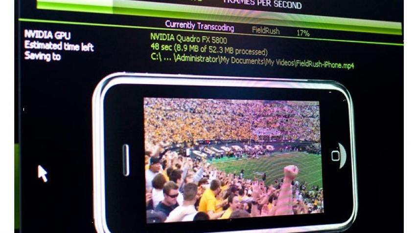 Видеокарты займутся кодированием видео