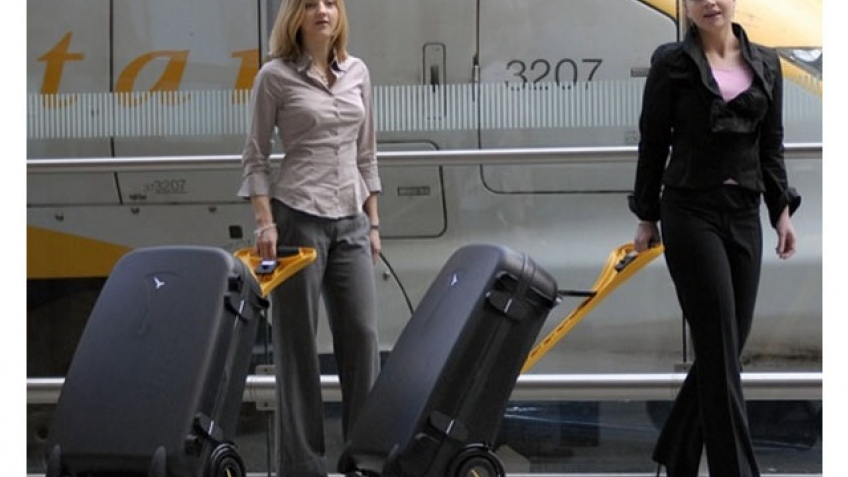 Багаж на аккумуляторах