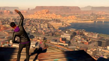Авторы перезапуска Saints Row показали пару минут свежего геймплея